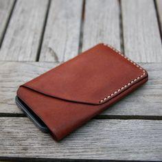 iPhone 5 Leather Sleeve & Card Holder. $46
