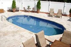See all Aquasport 52 Pictures on our website Small Fiberglass Inground Pools, Fiberglass Pool Prices, Small Inground Swimming Pools, Swimming Pool Cost, Oberirdische Pools, Pools For Small Yards, Small Backyard Pools, Small Backyards, Pool Decks