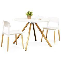 Chaise design scandinave FRISK avec accoudoirs
