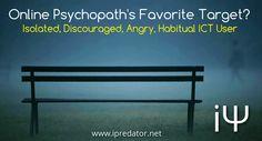 #Psychopaths #OnlinePsychopathy #iPredator Image-Free to D/L, Edit for Edu. Purposes. iPredator Inc. New York, USA  Online Psychopath Checklist https://www.ipredator.co/online-psychopaths/