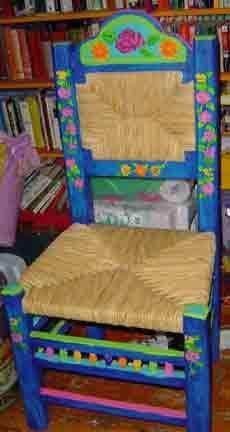 Mexican Folk Art Chairs