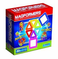 Amazon.com : Magformers Rainbow 30 Piece Set : Toy Interlocking Building Sets : Toys & Games
