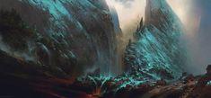 The Mountain Kingdom > epic concept art by Max Bedulenko https://www.artstation.com/artwork/the-mountain-kingdom?utm_content=buffer18a3b&utm_medium=social&utm_source=pinterest.com&utm_campaign=buffer #conceptart #fantasyart