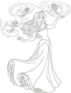 Disney Princess novo redesenho - estilo Art Guia sobre Wacom Gallery