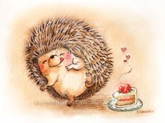 Hedgehog 3 by BlueBirdie.deviantart.com on @DeviantArt