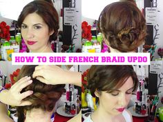 Braided hair,romantic updo See the tutorial on my Youtube channel:https://www.youtube.com/watch?v=B4Cq54zPbB8