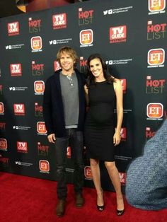 NCIS LA's Eric Christian Olsen & Daniela Ruah ♥