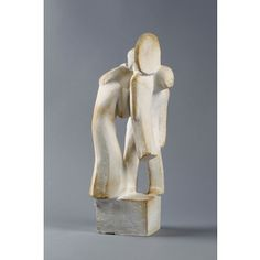 Veistos, kipsiä, signeerattu -40. Bathroom Hooks, September, Auction