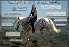 Benefits of Horse Back Riding :-)