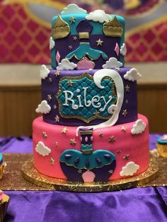 Riley's First Shimmer and Shine Birthday Divine! | CatchMyParty.com