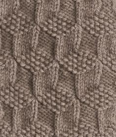 Great knitting stitch pattern.