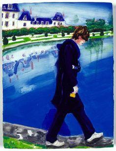 Elizabeth Peyton, Prince Eagle (Fontainebleau), 1999