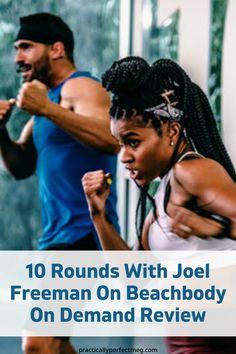 10 Rounds by Joel Freeman and Beachbody Review. #workoutfromhome#10Rounds#beachbody#fitness#workout#health#motivation#training#getfit#weights#fatloss#weightloss #cardio #boxing #boxingworkout #joelfreeman #beachbodyondemad