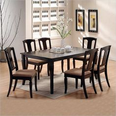9 piece dining room table sets | few piece dining room set