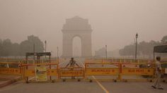"""Pollution is so bad in New Delhi people are taking 'smog selfies' Read more Technology News Here --> http://digitaltechnologynews.com  The Indian government declared an """"emergency situation"""" in New Delhi on Sunday as air pollution hit dangerous new highs  and residents have the selfies to prove it.   Officials announced a slew of measures to combat toxic smog in the capital city including halting construction projects canceling school closing a coal-fired power plant for 10 days and dousing…"""