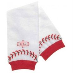 Home Run Legwarmers (00845520000730) Homerun hitter up to bat! Complete your little slugger's outfit with these adorable BabyLegs legwarmers and arm warmers complete with stitching.