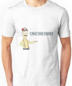 Real Fake Doors Unisex T-Shirt