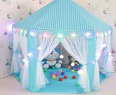 Cheap tents for four people Buy Quality tent car directly from China gift chain Suppliers Kids Play Tent Teepee Gift Princess Castle Tipi Toy Tents Kids ... & CuteKing Princess Castle Kids Play Tent Children Large Playhouse ...