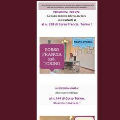 Nuovi studi della Dott.ssa Cinzia Barberis