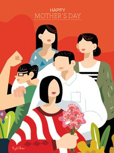Mother's Day - PingHua Chou Illustration