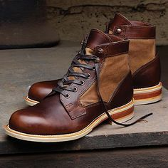 "7daystheory: ""Wolverine 1000 Mile Whitepine Boot #shoes #menstyle [Via Menswear Style] """