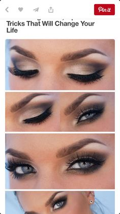 Eye makeup for the big day!