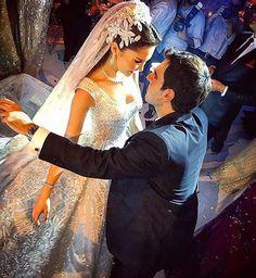 ❤❤❤ Wedding dress : Elie saab @eliesaabworld. Hair dresser : Wassim morkos @wassimmorkos @paceeluce.  Makeup artist : Bassam fattouh @bassamfattouh.  #lebaneseweddings #kkandlama @lamadannawi