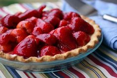 strawberry pie reminds me of home