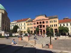 Kiraly utca (pedestrian area) - Pecs, Hungary