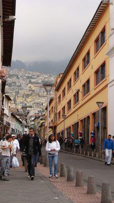 Historical District, Quito, Ecuador