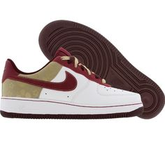 e1adfb58b1d3 Nike Womens Air Force 1 07 Low (white   garnet   tweed) 315115-162 -  79.99