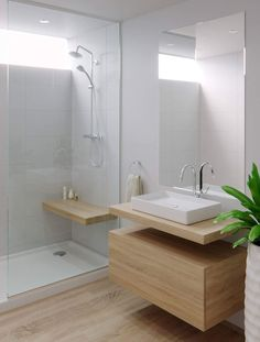 Small Bathroom Makeover, Bathroom Decor, Small Bathroom Remodel Designs, Bathroom Makeover, Bathroom Design Luxury, Bathroom Furniture Modern, Bathroom Interior Design, Modern Small Bathrooms, Ada Bathroom