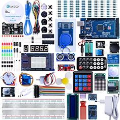 For each module, there is clear connection diagram,Fritzing breadboard images and sample code. About Arduino. Arduino compatible UNO Arduino Interacts with Processing(Button Module). Electronics Projects, Diy Electronics, Consumer Electronics, Electronics Components, Arduino Motor, Wifi Arduino, Arduino Laser, Arduino Programming, Electronic Kits For Kids