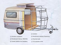 Hymer Eriba Puck #hymer #caravan #camping #design #vintage #classic Gmc Motorhome, Airstream Campers, Camper Caravan, Camper Life, Small Travel Trailers, Cargo Trailers, Camper Trailers, Vintage Caravans, Vintage Trailers