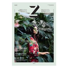 Z MAGAZINE #magazine #content #print #design #graphicdesign #logo #publishing #tech #web #cool #inspo #europe #nyc #beautiful #green #branding #typography #art #typography