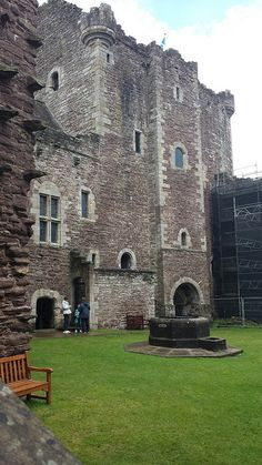 Doune castle near village of Doune, Stirling, Scotland;