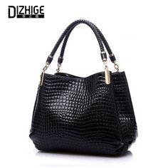 $52.36 (Buy here: https://alitems.com/g/1e8d114494ebda23ff8b16525dc3e8/?i=5&ulp=https%3A%2F%2Fwww.aliexpress.com%2Fitem%2FBig-New-Women-Shoulder-Bags-Alligator-Ladies-Leather-Bags-Women-Handbags-Of-Famous-Brands-Totes-2015%2F32547876861.html ) Big New Women Shoulder Bags Alligator Ladies Leather Bags Women Handbags Of Famous Brands Totes 2015 Black Sac Espagnol for just $52.36
