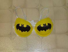 Batman Bra  Standard Pushup by RainbowKidShop on Etsy, $29.99