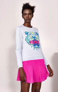 Tiger Sweatshirt, , KENZO