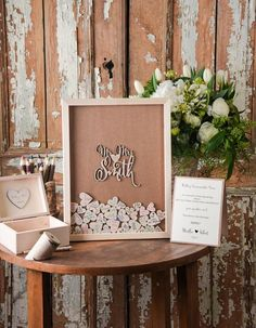 WEDDING GUEST BOOKS Alternative 01/Fherats/F Rockwell Catering and Events