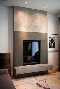 Sculptural Design   Calgary, Alberta   Portfolio   Fireplaces