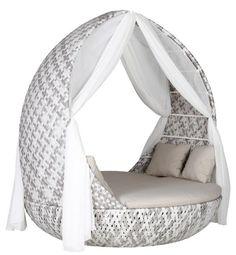 Trendige Sonneninsel Piccadilly Garten Lounge Sonnenliege Gartenmöbel