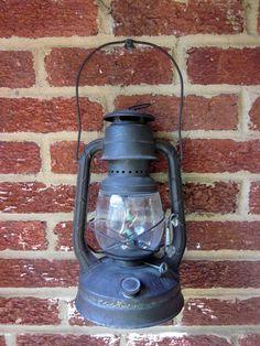 Vintage Lantern Dietz Little Wizard with Original by antiquelove22, $34.00