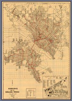 Dallas has grown since 1936