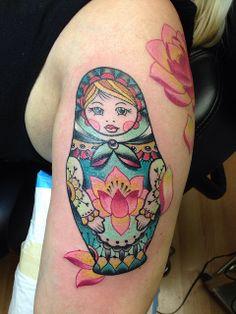 matryoshka tattoo