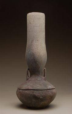 Vessel (2011) by Montana-based American ceramic artist Kenyon Hansen. via the potter's site