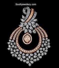 Simple diamond pendant by Krishna Jewellers, Pearls & Gems Black Diamond Bracelet, Diamond Pendant Necklace, Diamond Bracelets, Diamond Jewelry, Bangle Bracelet, Gold Jewelry, Jewelry Bracelets, Fine Jewelry, Gold Necklaces
