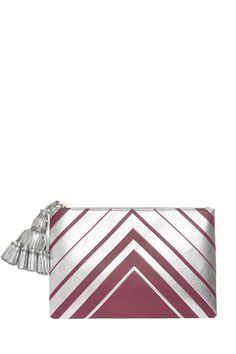 SS16 | Anya Hindmarch Georgiana Large Diamond Clutch. Available in-store and on Boutique1.com