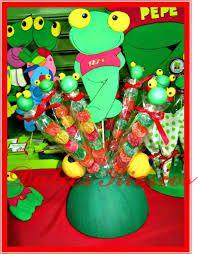 Resultado de imagen para decoraciones de sapo pepe para cumple