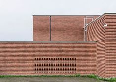 Gottlieb Paludan add brick additions to old industrial buildings